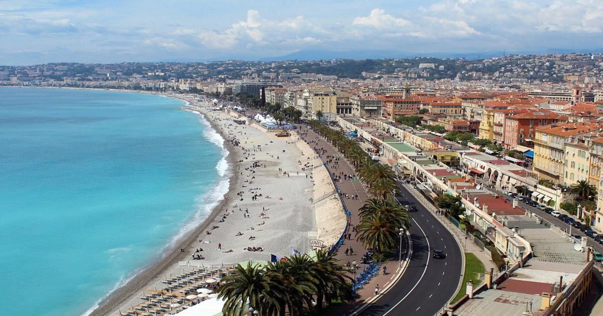 Plage à Nice