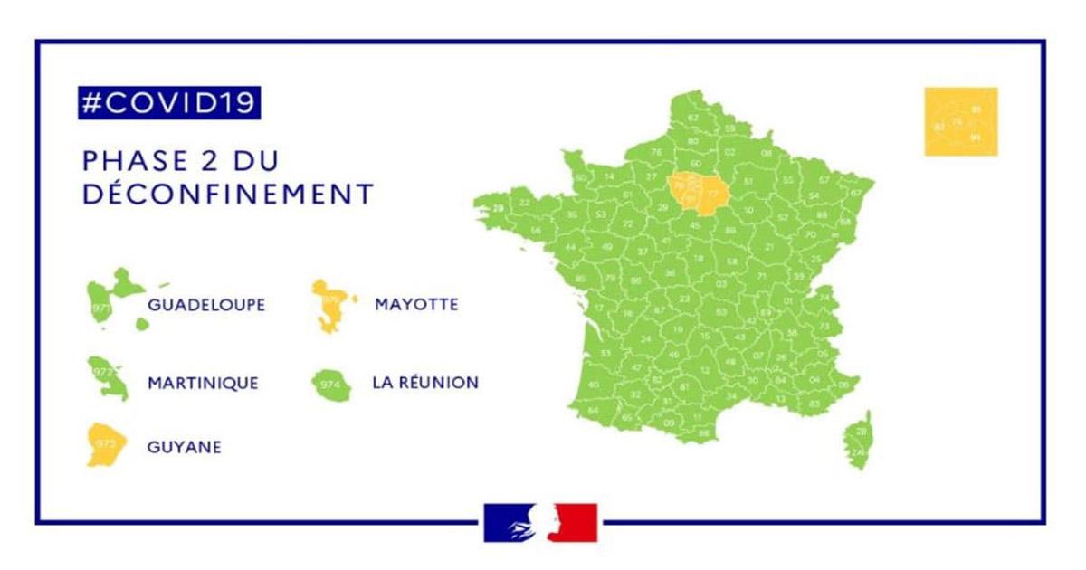 Régions et Covid-19