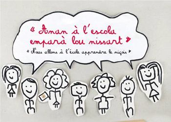 Anan à l'escola emparà lou nissart