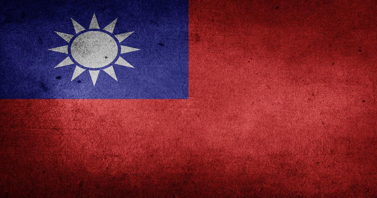 Le drapeau de Taïwan